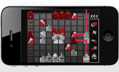 The Laser Game: Khet 2.0 app