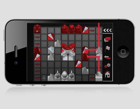 the laser game khet 2 0 app digital design and