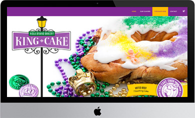 NOLA Bakery King Cake